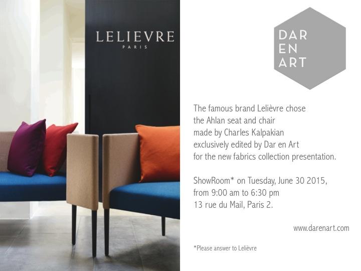 Press Release Dar en Art Lelievre June 2015